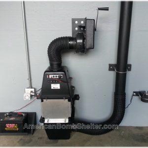 60 CFM Safe Cell NBC air filtration system