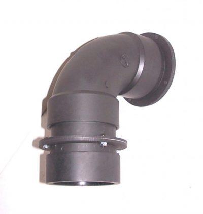 Overpressure valve in a bomb shelter