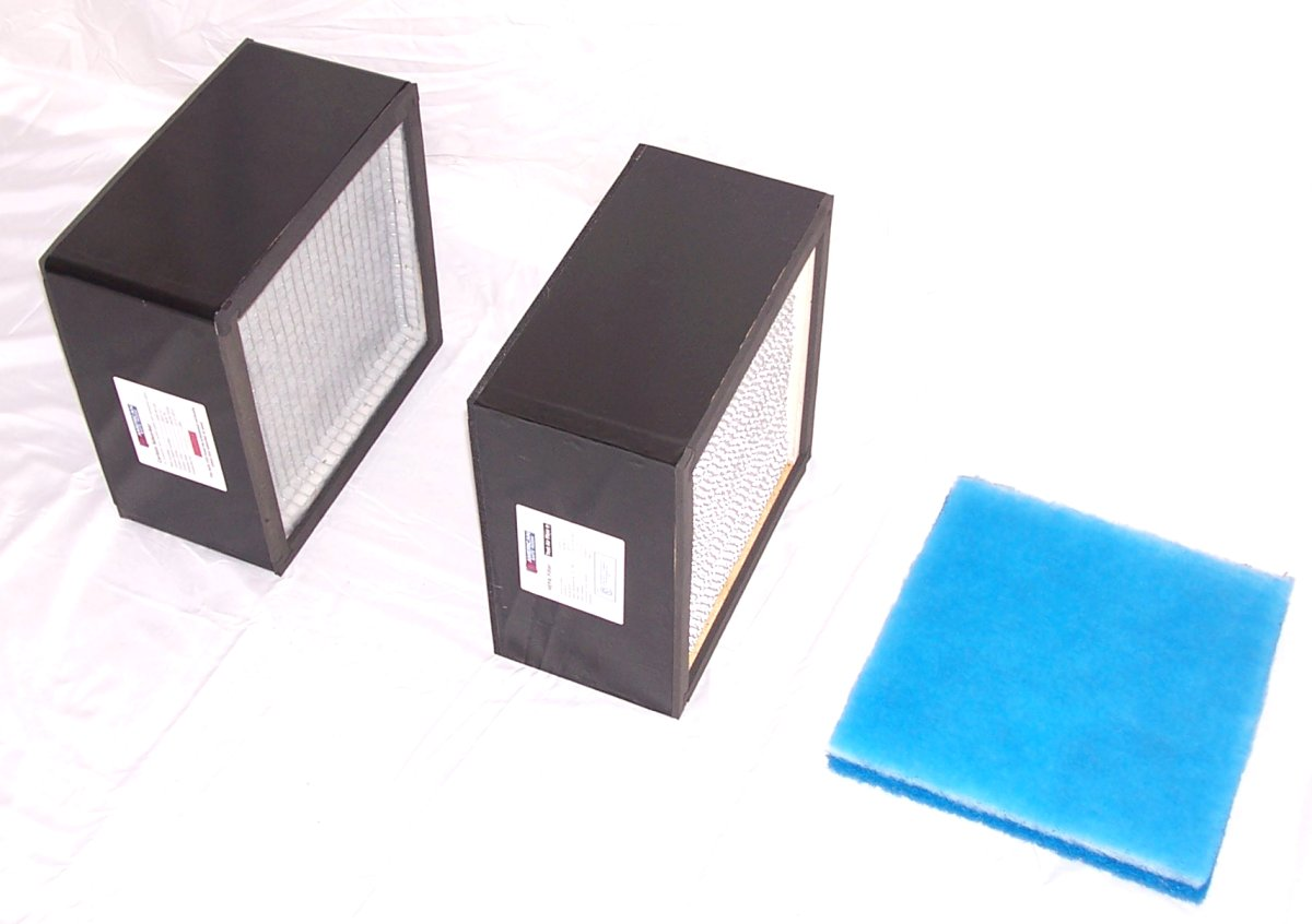 Replacement filters for an NBC air filtration system