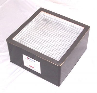 Carbon adsorber for the 60 CFM Safe Cell