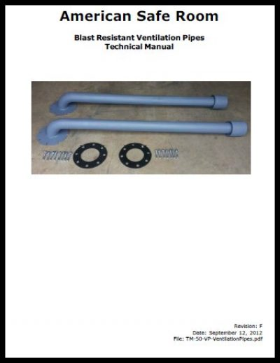 Ventilation pipes technical manual