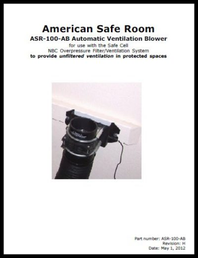 NBC air filter bypass blower manual