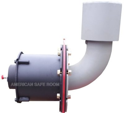 Blast valve from American Safe Room
